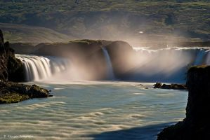 Godafoss by Aphantopus