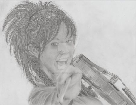 Lindsey Stirling by lordamrasnenharma