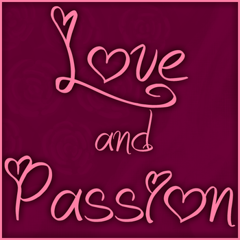 Love and Passion font by Jellyka