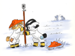 Surveying by Valkyrie-Girl