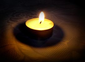 Lonely Candle by Leo250