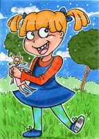 Rugrats - Angelica by ninjin4ever