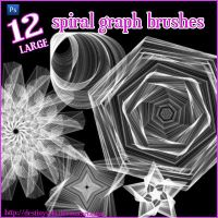 Spiral Graph Brushes by tina1138