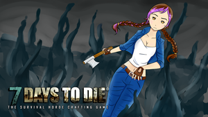 Minx Title Card 7 Days To Die by MarchBunny