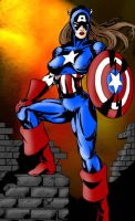 What If Captain America... by agent-waway