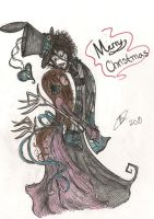 Clocks merry christmas-late- by Peepoland