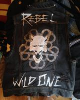 Black Veil Brides vest by vampire-wolf-girl