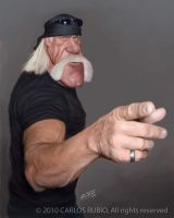 Hulk Hogan by CarlosRubio