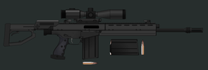 DMR Rifle WIP by KoeiX2