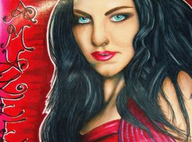 Amy Lee Portrait by starlitefairy24