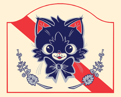 Pabst Blue Kitten T-Shirt by Pocketowl
