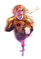 Perspective Eobard by DarkLitria