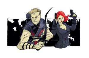 Hawkeye and Black Widow AMV by Hodges-Art