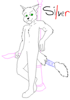 Anthro Male Cat-1 by SilverBases