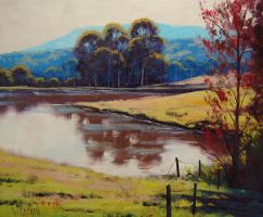 Victorian Highlands by artsaus