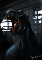 Sewers T-Rex by TyphonArt