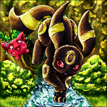 Wild Umbreon Appeared. by Sayuri-Lilly