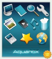 Aquanox mini Icon Set by cyberchaos05