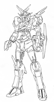 Gundam Valiant by StrikeRougeMk2