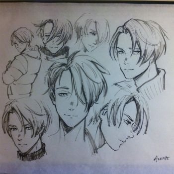 Viktor Sketches by alempe