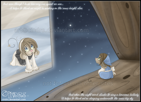 Somewhere out there by cindre