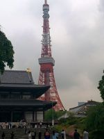 Tokyo Tower by ltdtaylor1970