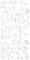 The Greatest Sketch Dump Evar by EpicGuitar