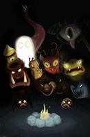 Don't Starve Monsters by Super-Cute