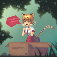 Kemono Friends - Tiger by Runicrow