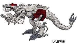 TM2 Dinobot alt-mode colors by doom-bees