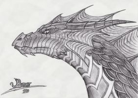 Dragon Head '1000' by Beast3
