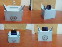 phone holder by nupharHALL