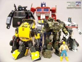 G1 Group Shot by WheelJack-S70