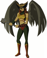 Alt. Injustice Hawkgirl Design by AMTModollas