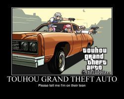 Touhou Grand Theft Auto by Climbkid