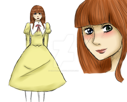 Flare My ouran OC by Hinatagirlie