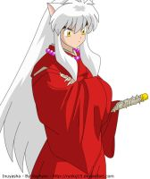 Inuyasha - Crossed Arms by Ryoku15