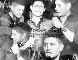 Jensen smiling happy by magicrubbish