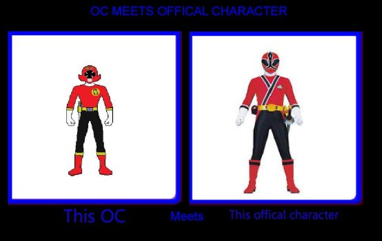 Red Ranger Meets Red Ranger Meme by coleroboman