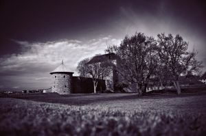 Fortress of Akershus by Elenihrivesse