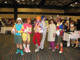 Otakuthon 09: Digimon group by MysticSteph