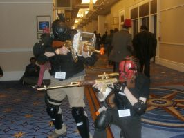 Army of Two - Katsucon '14 by DeathBat94