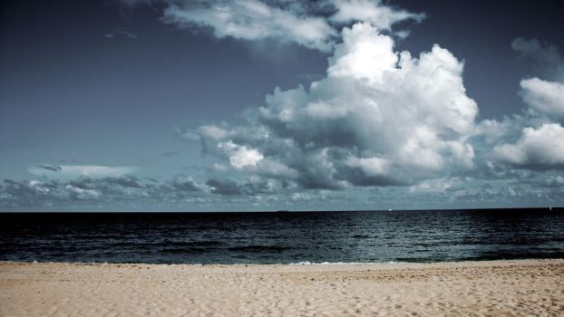 the beach by moc426