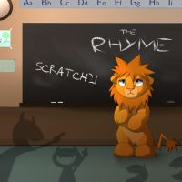 The Rhyme-Track cover art by Kitchiki