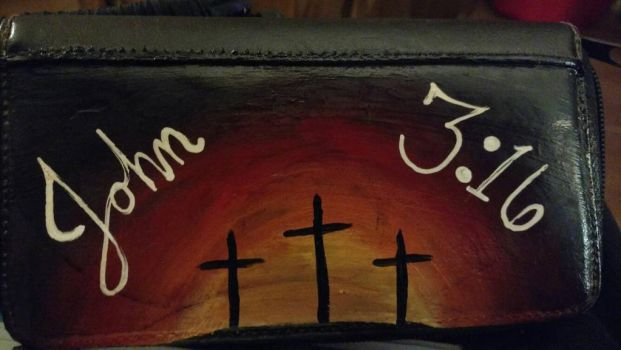 John 3:16 Wallet by SuperCrazyZeldaFreak