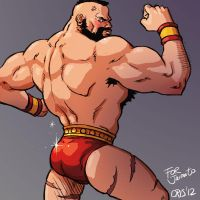 Zangief by Cris-Art