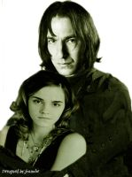 Hermione and Severus by franolie