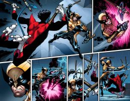 Nightcrawler #1 preview by ToddNauck