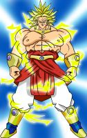 Broly_lineart by lcdesigner