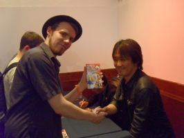 SoS2011: Me and Takashi Iizuka by Sonicguru